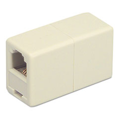 Softalk Telephone Cord Coupler, Ivory