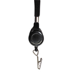 Advantus Lanyards with Retractable ID Reels, Clip Style, 36