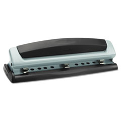 Swingline 10-Sheet Precision Pro Desktop Two- and Three-Hole Punch, 9/32