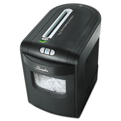 Swingline EX10-06 Cross-Cut Jam Free Shredder, 10 sheets, 1-2 Users