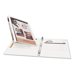 Avery Economy View Binder with Round Rings, 1/2