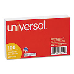 UNV 47210 Universal Recycled Index Strong 2 Pt. Stock Cards UNV47210