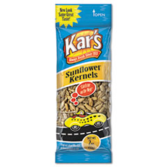 Kar's Nuts Caddy, Sunflower Kernels, 2oz Packets, 24/Box
