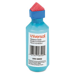 Universal Squeeze Bottle Moistener, 2 oz, Blue