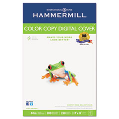Hammermill Copier Digital Cover Stock, 60 lbs., 17 x 11, White, 250 Sheets