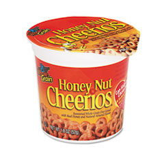 General Mills Honey Nut Cheerios Cereal, Single-Serve 1 4/5 oz Cup, 6/Pack