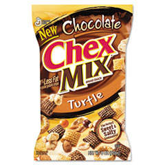 General Mills Chex Mix Chocolate Turtle, 4.5 oz., 7/Box