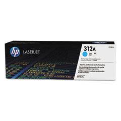 HP 312A (CF381A) Cyan Original LaserJet Toner Cartridge for Color LaserJet Pro MFP M476