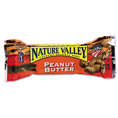 General Mills Nature Valley Granola Bars, Peanut Butter Cereal, 1.5oz Bar, 18 Bars/Box