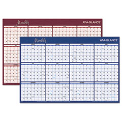 AT-A-GLANCE Horizontal Erasable Wall Planner, 36