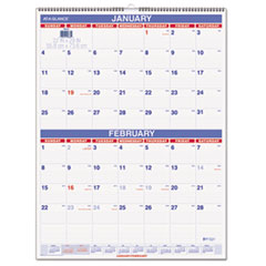 AT-A-GLANCE Two-Month Wall Calendar, 22 x 29, 2016