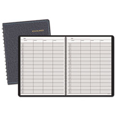 AT-A-GLANCE Four-Person Group Undated Daily Appointment Book, 8 1/2 x 11, White,