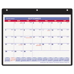 AT-A-GLANCE Monthly Academic Desk/Wall Calendar, 11 x 8-1/4, 2014-2015