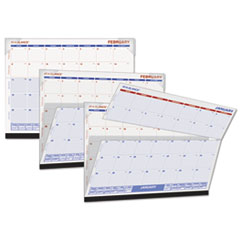AT-A-GLANCE Look Forward Desk Pad, 22 x 17, White, 2016