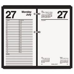 AT-A-GLANCE Large Desk Calendar Refill, 4 1/2 x 8, White, 2016