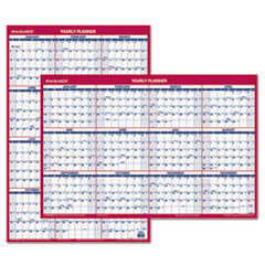 AT-A-GLANCE Recycled Vertical/Horizontal Erasable Wall Planner, 24