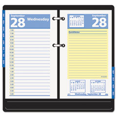 AT-A-GLANCE QuickNotes Desk Calendar Refill, 3 1/2 x 6, 2016