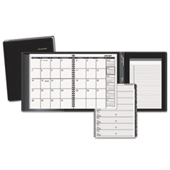 AT-A-GLANCE Plus Monthly Planner, Black, 6 7/8