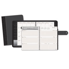 AT-A-GLANCE Executive Fashion Weekly/Monthly Planner, 8-1/4 x 10-7/8, Black, 2015