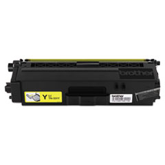 Brother TN331Y (TN-331Y) Toner, 1500 Page-Yield, Yellow
