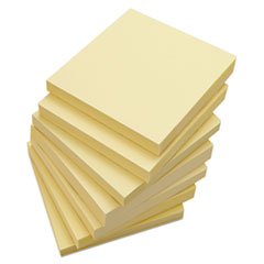 Universal Standard Self-Stick Notes, 3 x 3, Yellow, 18 100-Sheet Pads/Pack