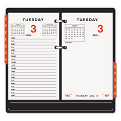 AT-A-GLANCE Two-Color Desk Calendar Refill, 3 1/2 x 6, 2015