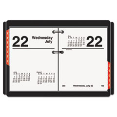 AT-A-GLANCE Compact Desk Calendar Refill, 3 x 3 3/4, White, 2016