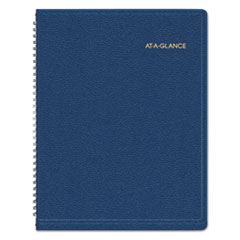 AT-A-GLANCE Recycled Weekly Appointment Book, Navy, 8 1/4