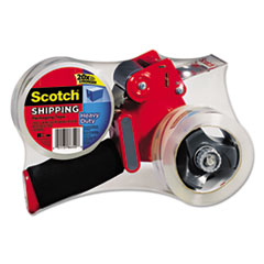 Scotch Packaging Tape Dispenser with Two Rolls of Tape, 1.88
