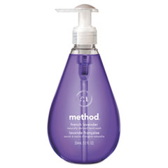 Method Gel Hand Wash, French Lavender Liquid, 12oz Pump Bottle