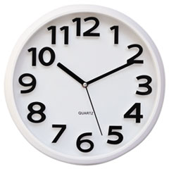 UNV 10456 Universal Contemporary Round Wall Clock UNV10456