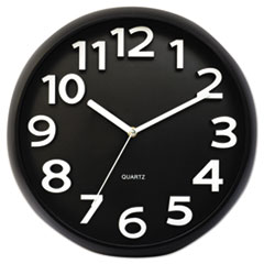 UNV 10454 Universal Contemporary Round Wall Clock UNV10454
