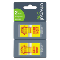 Universal One Arrow Page Flags,