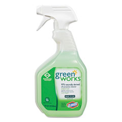 Green Works All-Purpose Cleaner, Original, 32oz Smart Tube Spray Bottle