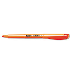 Brite Liner Highlighter, Chisel Tip, Fluorescent Orange Ink, 1 Dozen