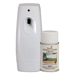 TimeMist Yankee Candle Starter Kit, Clean Cotton, 6.6oz, 3 3/4 x 3 x 9 1/4, Beige