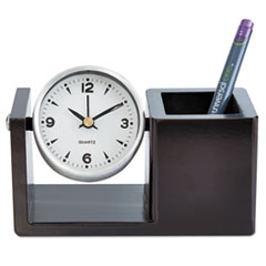 UNV 10455 Universal Deluxe Executive Desk Clock UNV10455