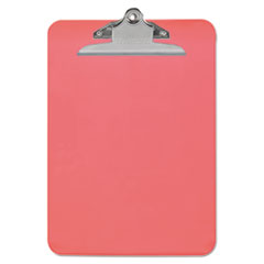 UNV 40309 Universal Plastic Clipboard with High Capacity Clip UNV40309