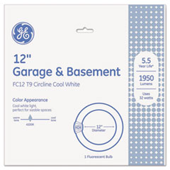 GEL 33890 GE T9 Circline Garage & Basement Fluorescent Bulb GEL33890