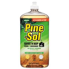 Pine-Sol® CLEANER PINE-SOL MU-SRF S Squirt 'n Mop Multi-Surface Floor Cleaner, 32 Oz Bottle, Original Scent