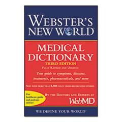 HOU 1549536 Houghton Mifflin Webster's New World Medical Dictionary, Third Edition HOU1549536