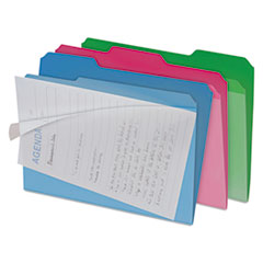 IDE FT07187 find It™ Clear View Interior File Folders IDEFT07187