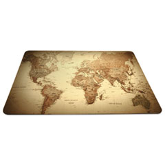 ESR 119066 ES Robbins Trendsetter World Map Desk Pad ESR119066