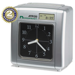 Acroprint Model ATR120 Analog/LCD Automatic Time Clock