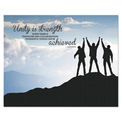 AVT 78094 Advantus Silhouette Canvas Motivational Print AVT78094