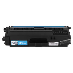 Brother TN336C (TN-336C) High-Yield Toner, 3500 Page-Yield, Cyan