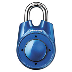 """Master Lock® PADLOCK SPEED DIAL AST Speed Dial Set-Your-Own Combination Lock, 2"""" Wide, Assorted"""