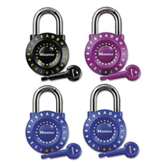 Master Lock Set-Your-Own Combination Lock, Steel, 1 7/8