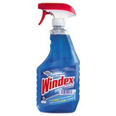 Windex Powerized Glass Cleaner with Ammonia-D, 32oz Spray Bottle