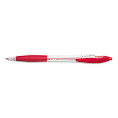 BIC Atlantis Ballpoint Retractable Ball Pen, Red Ink, Medium, Dozen